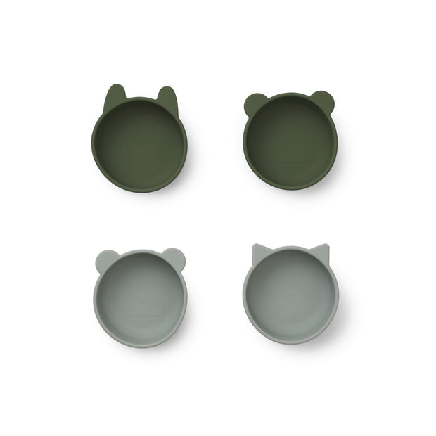 Liewood - Iggy Silicone Bowls (4 pack)