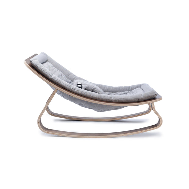 Charlie Crane - Levo Baby Rocker Walnut (Sweet Grey)