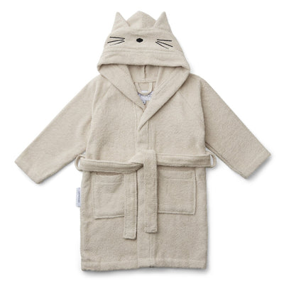 Liewood - Lily Bathrobe (Cat Sandy 1-2 years)