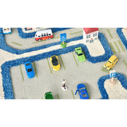 Traffic Blue Rug (Large)