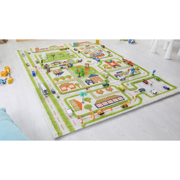 IVI - Traffic Green Rug (Large)
