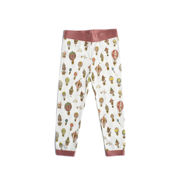 Atelier Choux - Pants (Hot Air Balloon Pink - 3-6m)