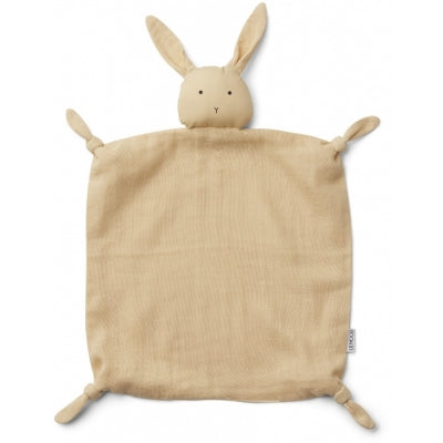Liewood - Agnete Cuddle Cloth (Rabbit Smoothie Yellow)