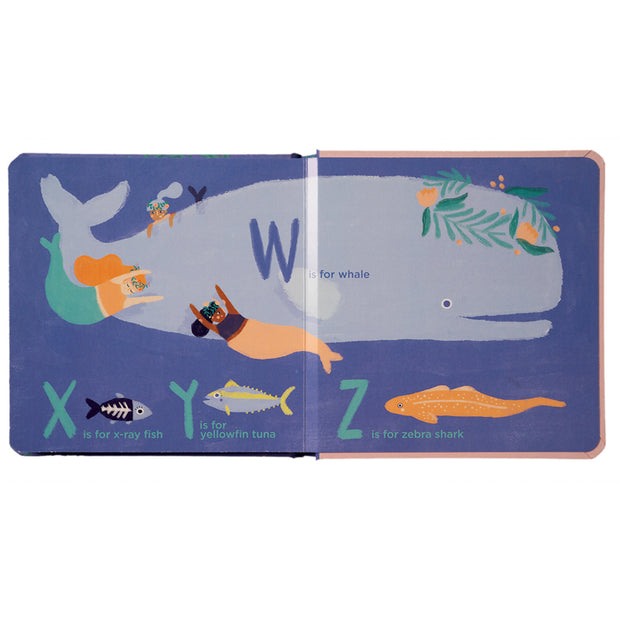 A Mermaid's ABCs Book