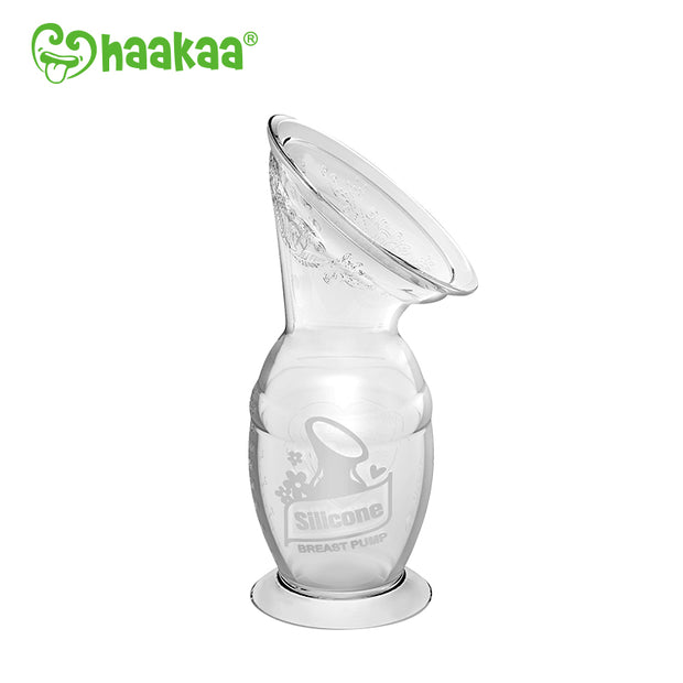 Haakaa - Silicone Breast Pump (with suction base) 100ml