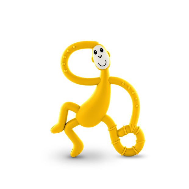 Matchstick Monkey Dancing Monkey Teether - Yellow