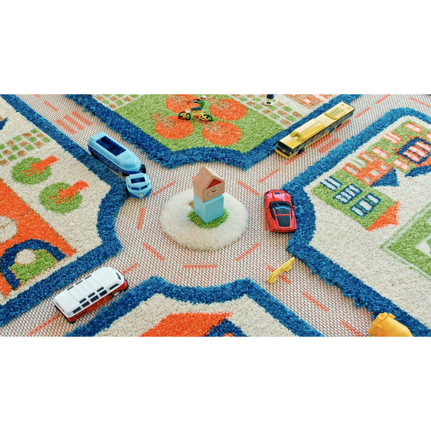 Traffic Blue Rug (Medium)