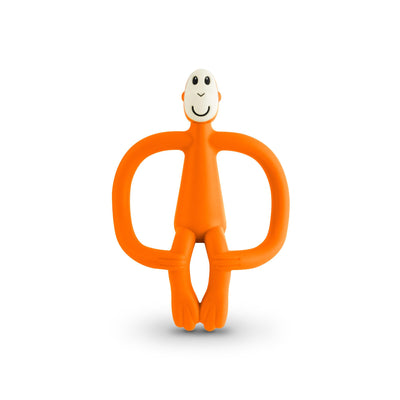 Matchstick Monkey Monkey Teether - Orange