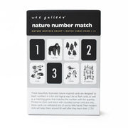 Wee Gallery - Art Cards for Baby (Nature Numbers) PRE ORDER AUGUST