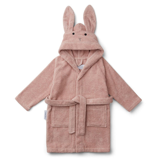 Liewood - Lily Bathrobe (Rabbit Rose 1-2 years)