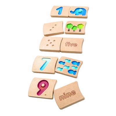 PlanToys - Numbers 1 - 10
