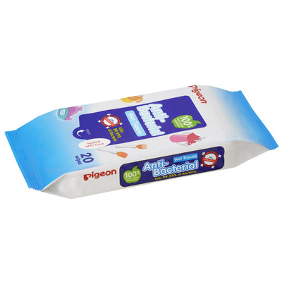 Pigeon - Anti Bacterial Wipes (20 wipes)
