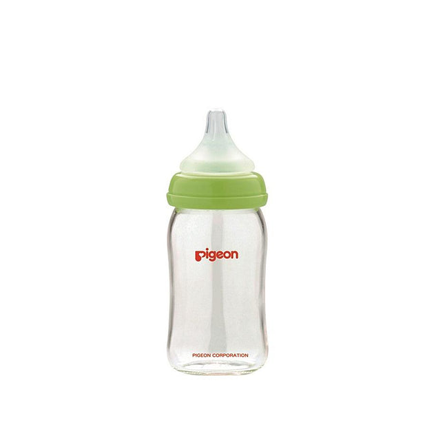 Pigeon - Soft Touch Peristaltic Slim Neck Bottle 160mL (GLASS)