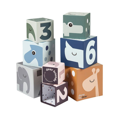 Stacking Cubes (Numbers)