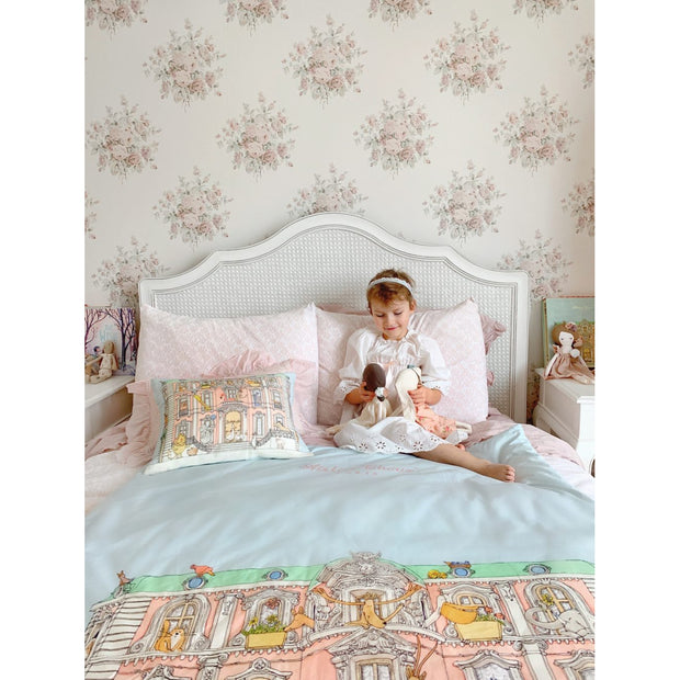 Atelier Choux - Reversible Quilt (Monceau Mansion/Hot Air Balloon) PREORDER AUGUST