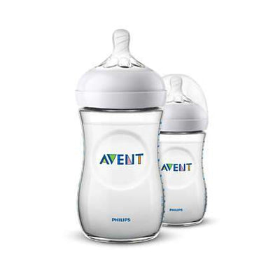 Philips Avent - Natural Feeding Bottle 260ML (2 pack)