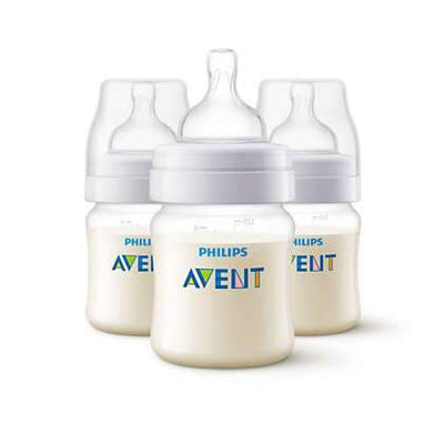 Philips Avent - Anti Colic Feeding Bottle 125ML (3 pack)