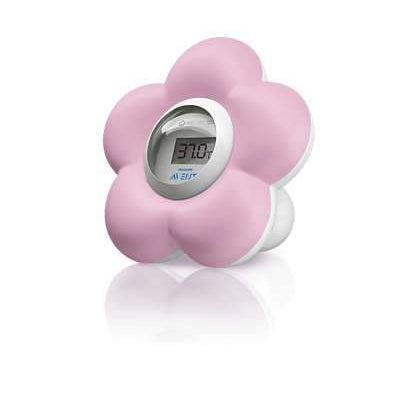 Room and Bath Thermometer (Pink)