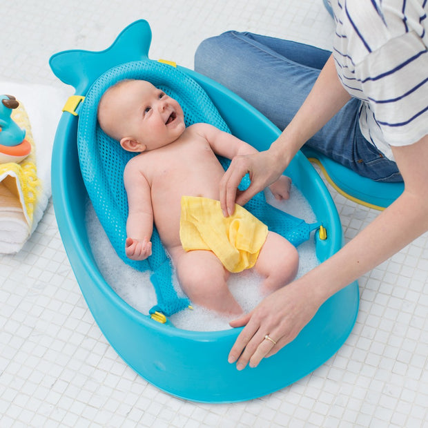 Skip Hop - Moby Smart Sling 3-stage Baby Tub (Blue)
