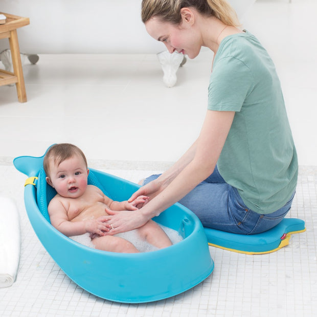 Moby Smart Sling 3-stage Baby Tub (Blue) PRE ORDER