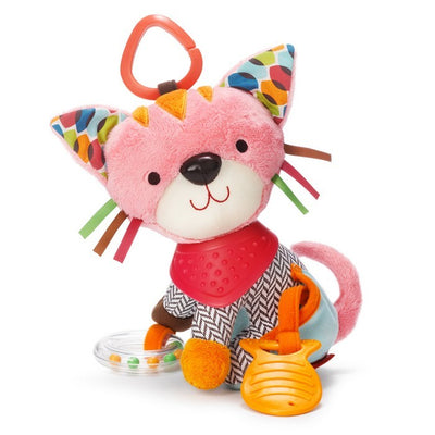 Skip Hop - Bandana Buddies Stroller Toy (Kitty)
