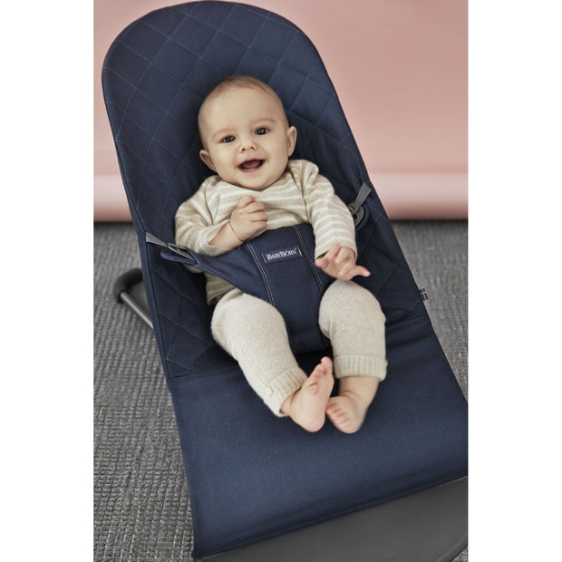Baby Bjorn - Bouncer Bliss (Midnight Blue Cotton)