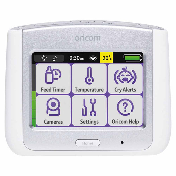 Oricom - Secure860 Touchscreen Video Monitor (Silver)