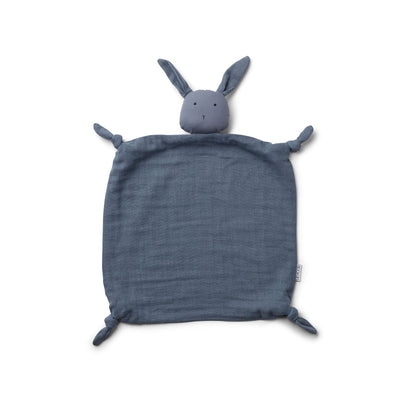 Agnete Cuddle Cloth (Rabbit Blue Wave)