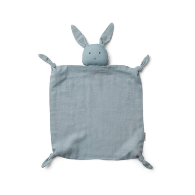 Agnete Cuddle Cloth (Rabbit Sea Blue)