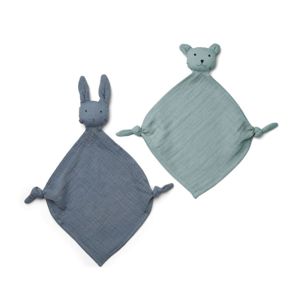 Liewood - Yoko Mini Cuddle Cloth (2 Pack) VARIOUS COLOURS