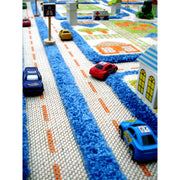 IVI - Traffic Blue Rug (Medium)