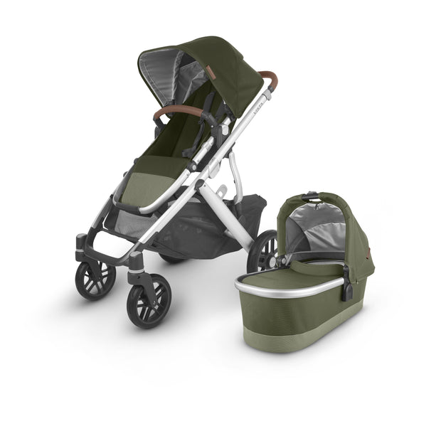 UPPAbaby - VISTA V2 with Bassinet (Olive Hazel) + $50 Metro Baby Voucher + FREE UPPER ADAPTERS + FREE PARENT ORGANISER
