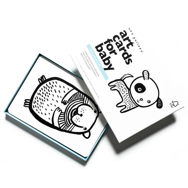 Wee Gallery - Art Cards for Baby (Pets)