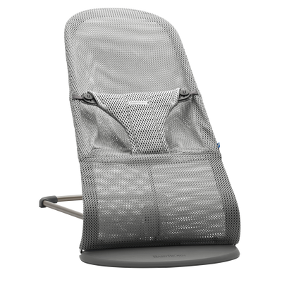 Bouncer Bliss (Light Grey Mesh)