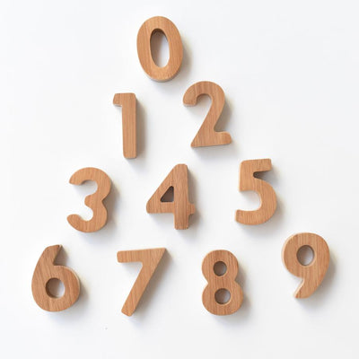 Wee Gallery - Bamboo Numbers