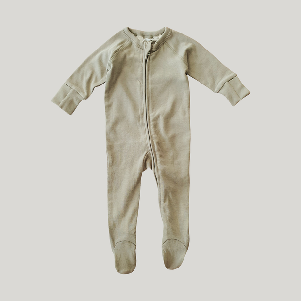 Zip Growsuit (Sage)