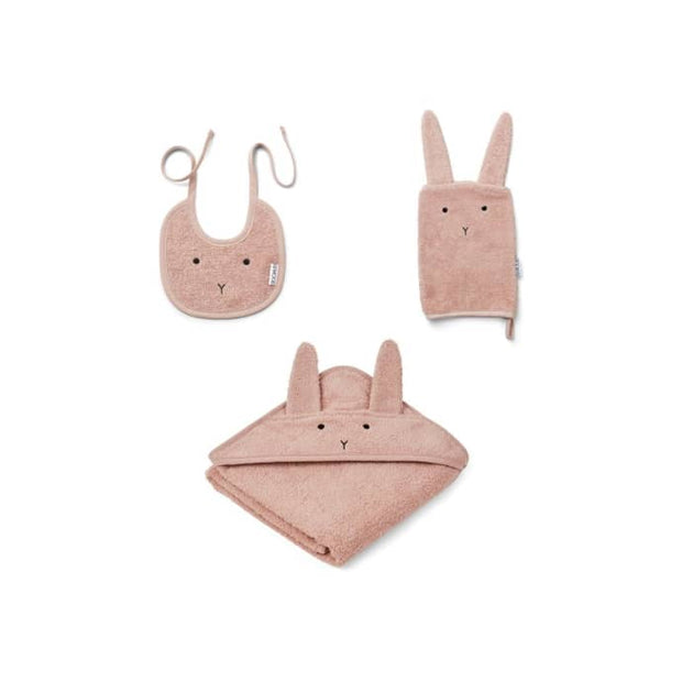 Liewood - Adele terry baby package (Rabbit Rose)