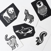 Wee Gallery - Art Cards for Baby (Black and White Collection)