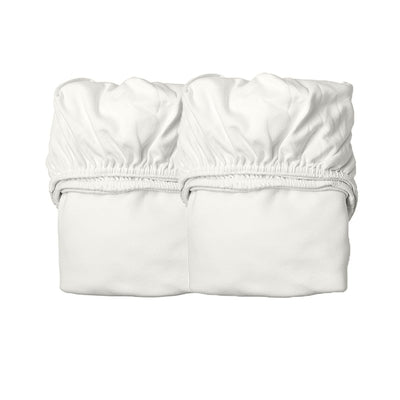 Organic Classic Cot Sheets (2 pack) VARIOUS COLOURS