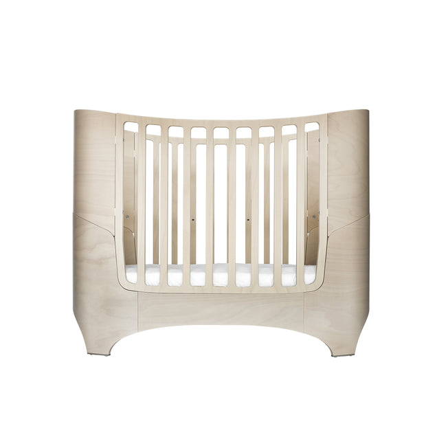 Baby Cot - Whitewash PRE ORDER APRIL