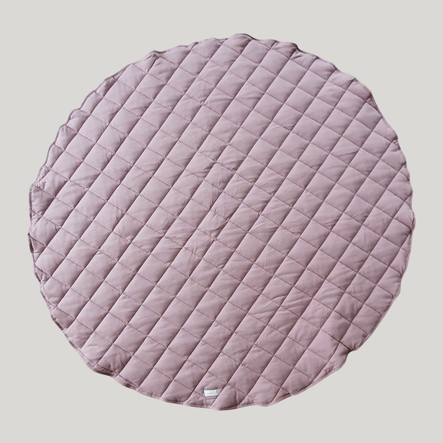 Quilted Playmat (Mauve)