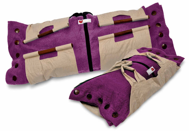 Sweet Goodbye COCOON™ - Pet Burial & Cremation Ceremony Kit | MAGENTA