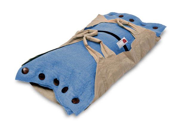 Sweet Goodbye COCOON™ - Pet Burial & Cremation Ceremony Kit | LIGHT BLUE
