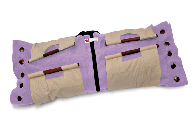 Sweet Goodbye COCOON™ - Pet Burial & Cremation Ceremony Kit | SOFT PURPLE