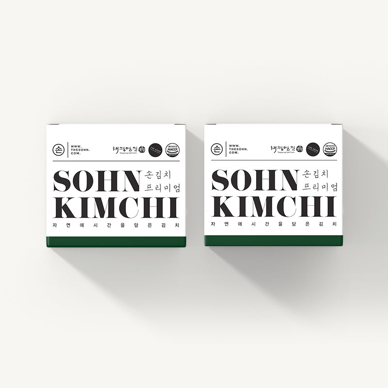 Load image into Gallery viewer, Sohn Premium Kimchi 850g (2boxes)