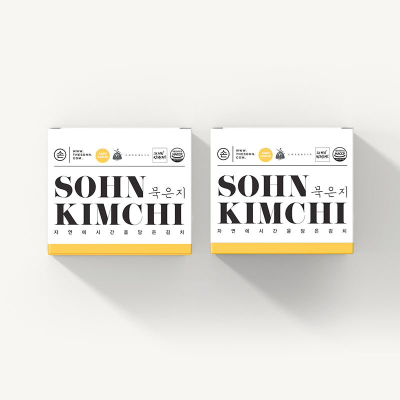 Load image into Gallery viewer, The Sohn Aged Kimchi 850g (2boxes)