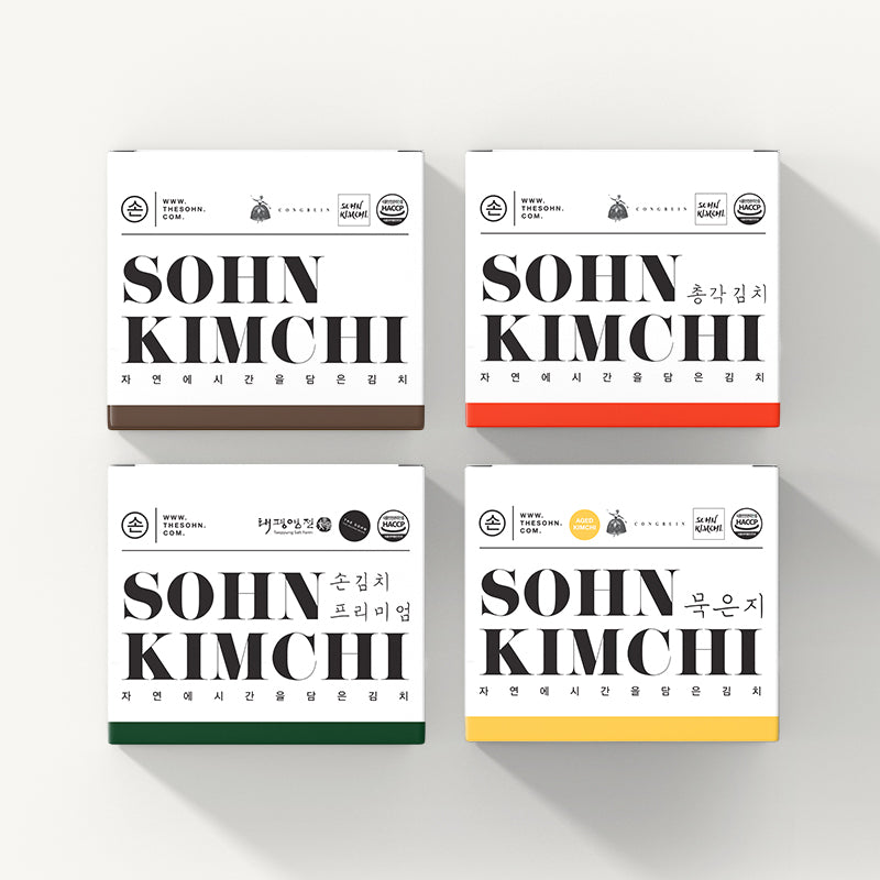 Load image into Gallery viewer, The Sohn Kimchi Set (4boxes)