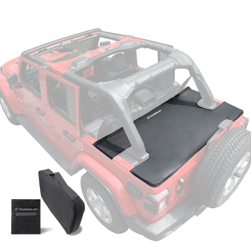 Jeep Wrangler Tonneau Cover Jlu 4 Door Rear Trunk Cover Cargo