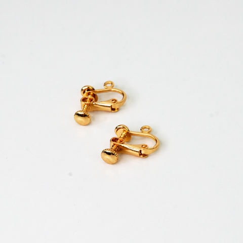 Metal Clip-On Earrings