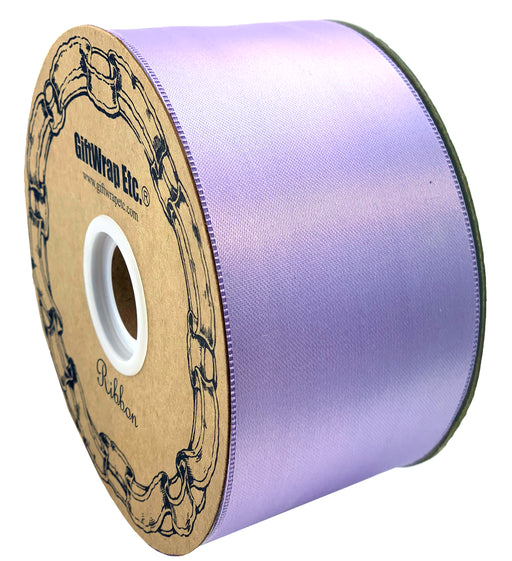 "Lavender Satin Fabric Decorative Ribbon - 2"" x 50 Yards"